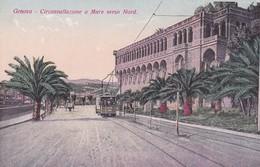 Postcard Genova  Circonvallazione A Mare Verso Nord My Ref  B12287 - Genova (Genoa)