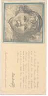 """BEAU CARTON INVITATION SOCIETE DES BEAUX ARTS DE NICE SALON """"ENFANCE ET MATERNITE"""" 1937 - Other Collections"""