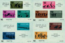 Ref. 41429 * NEW *  - MEXICO . 1968. GAMES OF THE XIX OLYMPIAD. MEXICO 1968. 19 JUEGOS OLIMPICOS VERANO MEXICO 1968 - Mexico