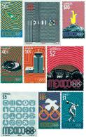 Ref. 52103 * NEW *  - MEXICO . 1968. GAMES OF THE XIX OLYMPIAD. MEXICO 1968. 19 JUEGOS OLIMPICOS VERANO MEXICO 1968 - Mexico