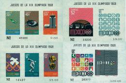 Ref. 52104 * NEW *  - MEXICO . 1968. GAMES OF THE XIX OLYMPIAD. MEXICO 1968. 19 JUEGOS OLIMPICOS VERANO MEXICO 1968 - Mexico