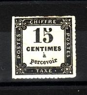 Taxe 1859 15c Type IB  F158 - Taxes