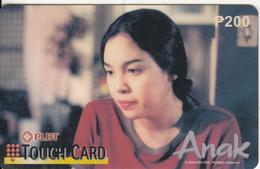 PHILIPPINES - Anak, PLDT Prepaid Card P 200, Exp.date 31/12/01, Used - Philippines