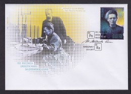 1.- POLAND 2017 FDC 50. Anniversary Of The Births Of Maria Sklodowska-Curie - Chemie