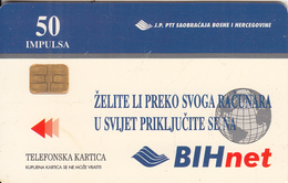 BOSNIA - BIHnet(50 Units), 03/98, Used - Bosnia