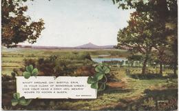 IRISH RHYME/PRETTY SCENERY - POSTALLY USED 1934 - Other