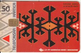 BOSNIA - Abstract Design, Calendar 1999(50 Units), Tirage 50000, 11/98, Used - Bosnia