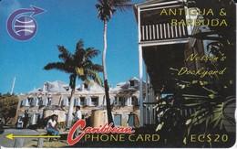 TARJETA DE ANTIGUA Y BARBUDA DE NELSON'S DOCKYARD  3CATB - Antigua And Barbuda
