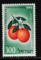 ISRAEL, 1956, Mint Never Hinged Stamp(s), Citrus Congress,  SG 130, Scan 17030,  No Tabs - Israel