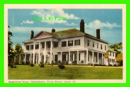 CHARLOTTETOWN, P.E.I. - GOVERNMENT HOUSE - PECO - - Charlottetown
