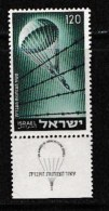 ISRAEL, 1955, Mint Never Hinged Stamp(s), Mobilisation,  SG 102,  Scan 17024,  With Tab(s) - Ongebruikt (met Tabs)