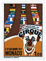 Ref. 32902 * NEW *  - MONACO . 1977. 4th INTERNATIONAL MONTECARLO CIRCUS FESTIVAL. 4 FESTIVAL INTERNACIONAL DEL CIRCO DE - Monaco
