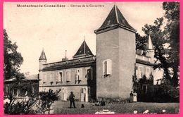 Montastruc La Conseillère - Château De La Conseillère - Gros Plan - Animée - Montastruc-la-Conseillère