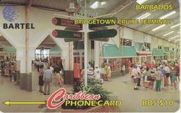 TARJETA DE BARBADOS DE BRIDGETOWN CRUISE TERMINAL ( 16CBDC) - Barbades