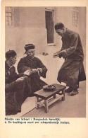 MONGOLIA Mongolie  : Mongoolsch Huwelijk. De Bruidegommoet Een Schapenbeentje Breken ( Mission VAN SHEUT ) - CPA - Mongolie