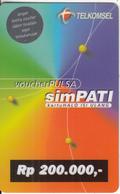 INDONESIA - Telkomsel Prepaid Card Rp 200000(plastic), Exp.date 31/12/99, Used - Indonesia