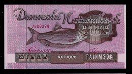 "Testnote ""Danmarks Nationalbank"", M. Wz, Test Note, RRRRR, Pink Paper, UNC, Trial - Dänemark"