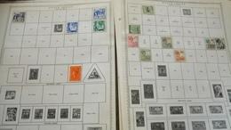 F0970 LOT FEUILLES TIMBRES EUROPE ET MONDE NEUFS / OB A TRIER BELLE COTE DÉPART 10€ - Stamps