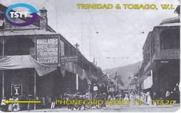 TARJETA DE TRINIDAD Y TOBAGO DE ROOT OF FREDERICK STREET IN 1905  267CTTA - Trinidad & Tobago