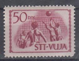 TRIEST ZONE B STT VUJA 1952 VOLLEYBALL - Voleibol