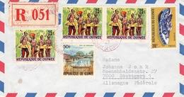 GUINEA - RECO 1987 CONAKRY -> STUTTGART/GERMANY - Guinea (1958-...)