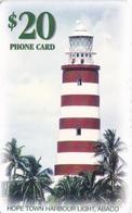 TARJETA DE BAHAMAS DE UN FARO (LIGHTHOUSE) - Bahamas