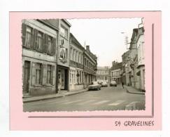 21273  CPM GRAVELINES : Sur Double Feuillet , Croisement Rue De Calais Et André Vanderghote !  Photo Véritable !! - Gravelines