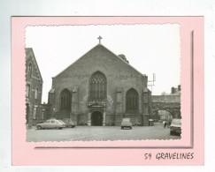 21274  CPM GRAVELINES : Sur Double Feuillet ,  L' Eglise ,  Photo Véritable !! - Gravelines