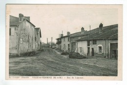 21276 CPA  VILLE EN VERMOIS : Rue De Lupcourt   !  ACHAT DIRECT !! - Other Municipalities
