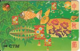 MACAU(GPT) - Chinese New Year 3, CN : 10MACD, Tirage 25000, Used - Macau
