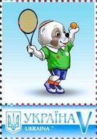 Ukraine 2017, Sport, Asian Games, Dog Alabay, Tennis, 1v - Ukraine