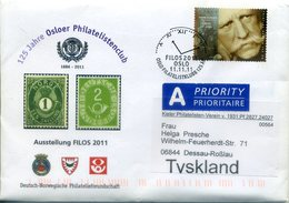 NORWAY 2011. Circulated Letter With CLOCK Special Postmarl. Reloj, Clock - Norway