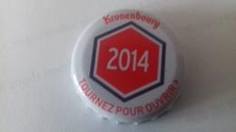 CAPSULE DE BIERE KRONENBOURG 2014 ROUGE - Cerveza
