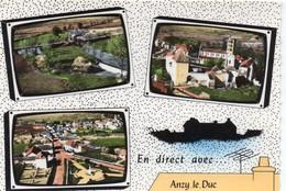 Anzy-le-Duc Belle Multi-vues Du Village - Otros Municipios