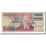 Billet, Turquie, 1,000,000 Lira, L.1970, KM:213, B - Turquie