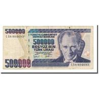 Billet, Turquie, 500,000 Lira, L.1970, KM:212, TB - Turquie