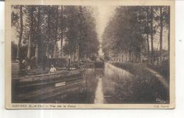 Gievres, Vue Sur Le Canal - Francia