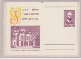 SCIENCE Linguiste Linguist LINGUISTICS Linguistique Linguistik Baudouin De Courtenay POLAND 1964 PC POSTAL STATIONERY - Otros