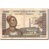 Billet, Mali, 10,000 Francs, Undated (1970-1984), KM:15e, TB - Mali
