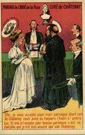 CARTE ANTICLÉRICALE (satirique) - Mariage De L'abbé De La Rue, Curé De Chatenay.   ANTI CLERICAL  ANTI CATHOLIC - Other