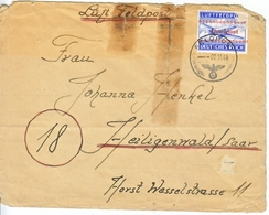 GERMANY   INSEL  POST KRETA  COVER - Covers & Documents