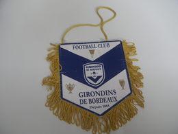 Fanion Football - FCGB BORDEAUX - Habillement, Souvenirs & Autres
