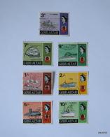 GIBRALTAR 1967, Queen Elizabeth II. SG 204, SG 207-212. Used. - Gibraltar
