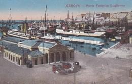 Postcard Genova Ponte Federico Gugliemo My Ref  B12289 - Genova (Genoa)