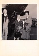 CPM - Frederico Fellini Gulieta Massina Et Marcello Mastroianni - 13 Avril 1960 - Photographe Photo Star 136 Air France - Artiesten