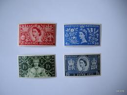 GREAT BRITAIN 1953. Queen Elizabeth II - Coronation. SCOTT 313-316. SG 532-535. MNH** - 1952-.... (Elizabeth II)