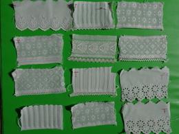 Atypique Lot D'echantillons De Coiffe Pour La Fabrication ( Destinee A La Clientele Pour Faire Son Choix) - Laces & Cloth