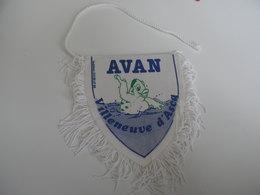 Fanion AVAN VILLENEUVE D'ASCQ - NATATION - Natation