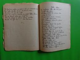 Cahier De Chansons 4/4/1949-la Marie-la Legende Des Flots Bleus-angelina-ange Mauran-la Fille A La Fermiere - Vieux Papiers