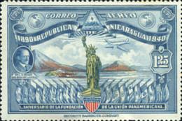 Ref. 347816 * NEW *  - NICARAGUA . 1940. 50 ANIVERSARIO DE LA UNION PANAMERICANA - Nicaragua